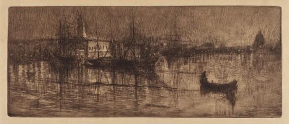 A Wet Evening in Venice