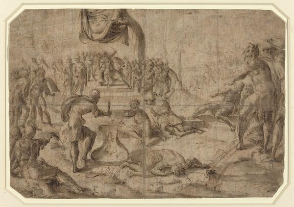 Sacrifice Scene (Gaius Mucius Scaevola?)