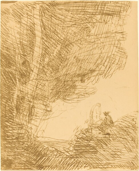 The Poet and His Muse (Le Poete et la muse)