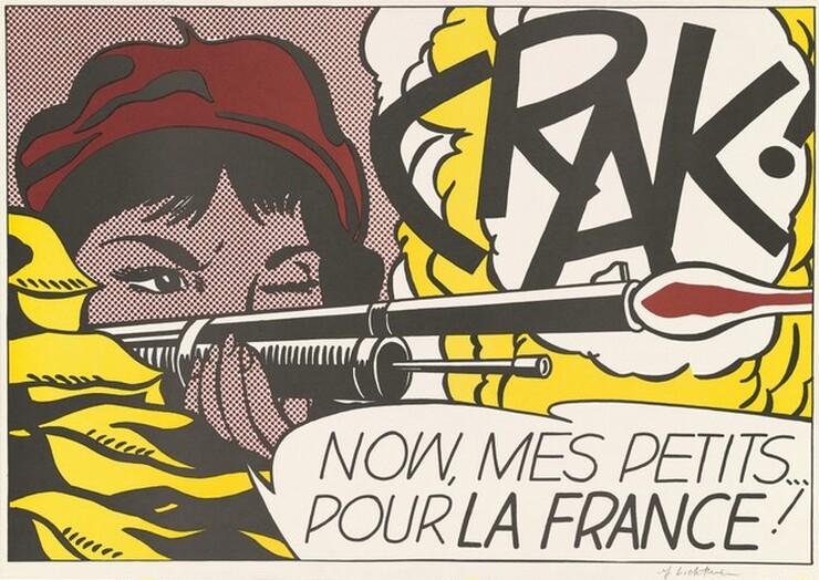 Roy Lichtenstein, Leo Castelli Gallery, Colorcraft, CRAK!, 1963/19641963/1964