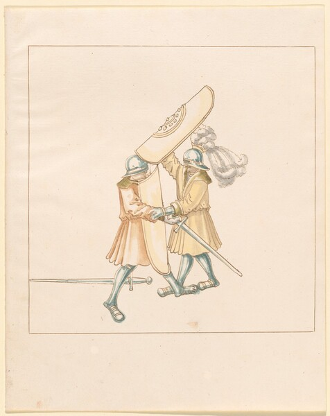 Freydal, The Book of Jousts and Tournament of Emperor Maximilian I: Combats on Foot (Jousts)(Volume III): Plate 156
