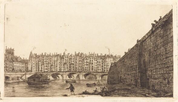 Le Pont-au-Change, Paris, vers 1784