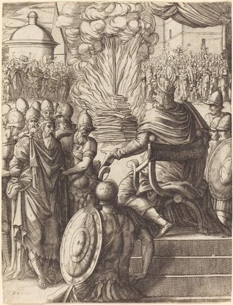 Heraclius Sentencing the Tyrant Phocas