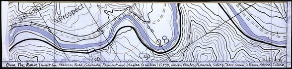 Over the River, Project for the Arkansas River, Colorado [top panel]