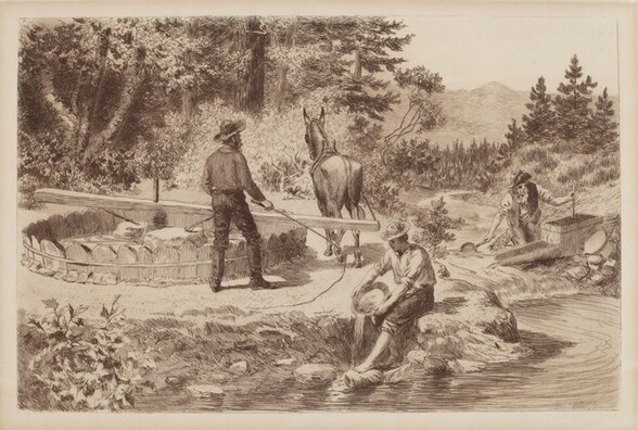 Untitled (Panning for Gold)