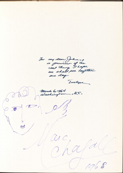 Self-Portrait with Signature