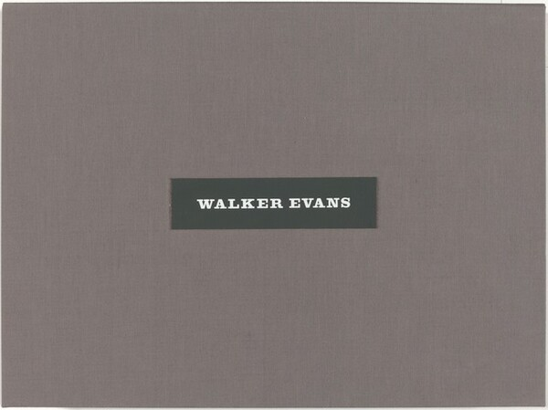 Walker Evans: Selected Photographs