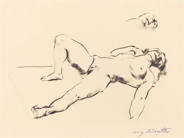 Liegender Weiblicher Akt II (Reclining Female Nude II )