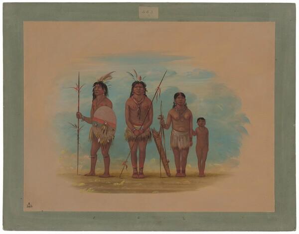 Four Xingu Indians