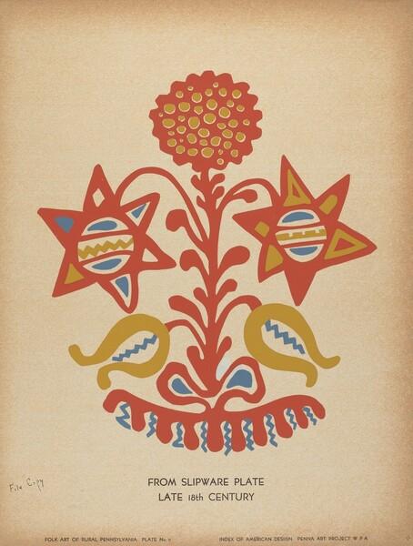 Plate 11: From the Portfolio Folk Art of Rural Pennsylvania