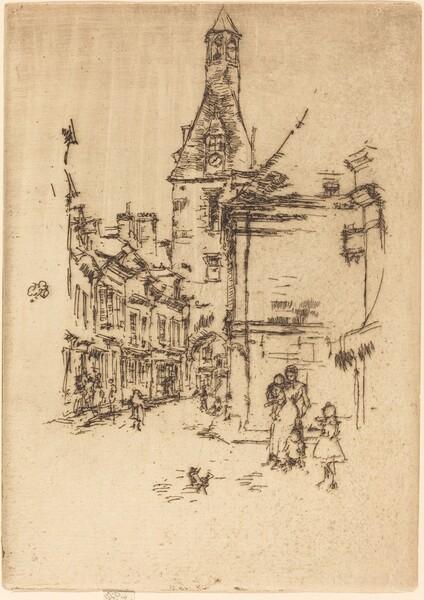 Clock-Tower, Amboise