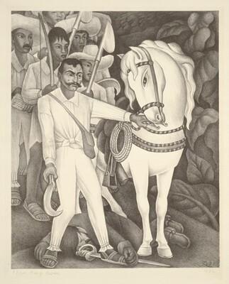 Diego Rivera, Viva Zapata, 1932