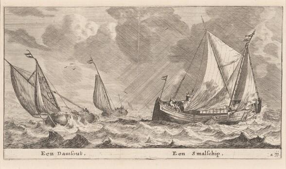 A Damschuit and a Smalschip
