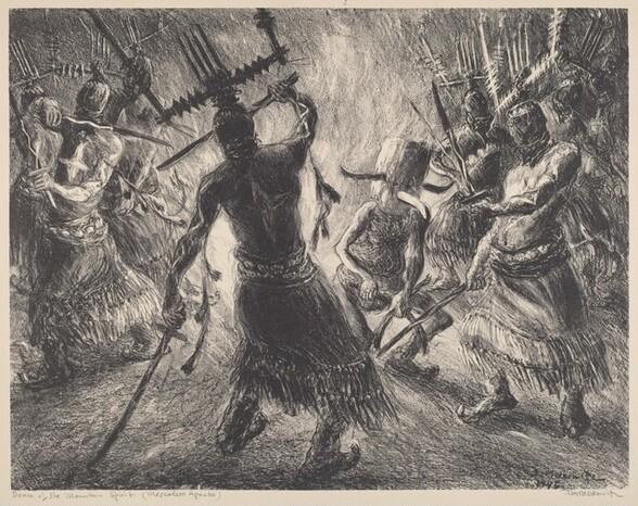 Dance of the Mountain Spirit (Mescalero Apache)
