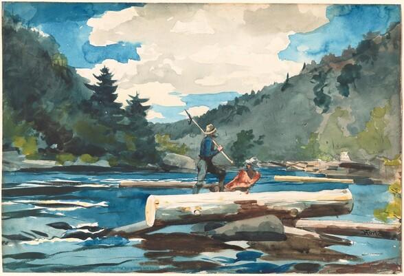 Hudson River, Logging