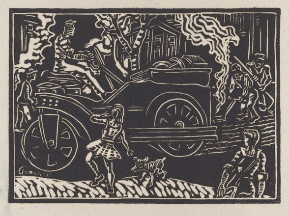 Untitled (Girl, Dog, Steamroller)