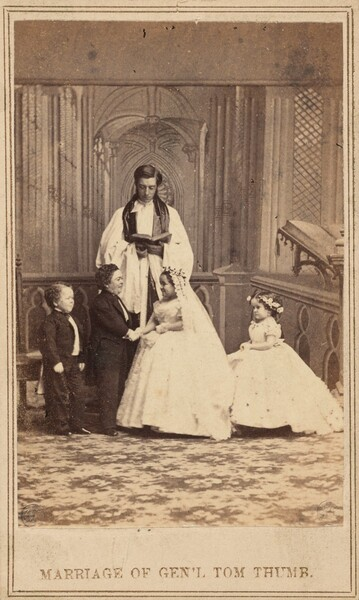 Marriage of General Tom Thumb
