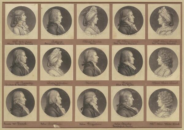 Saint-Mémin Collection of Portraits, Group 4