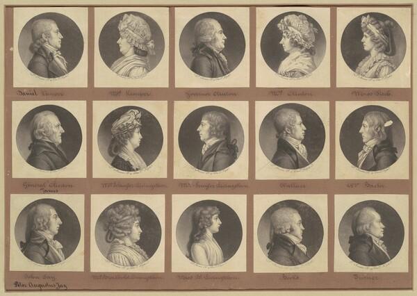 Saint-Mémin Collection of Portraits, Group 5