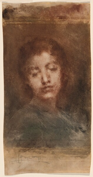 Malincolia (Melancholy, or Head of a Woman)