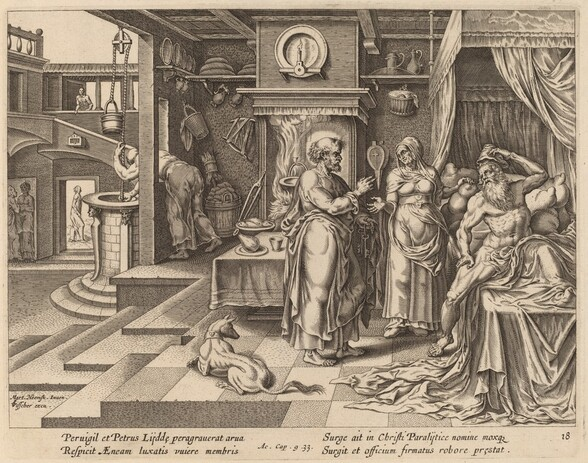The Healing of Eneas by Saint Peter