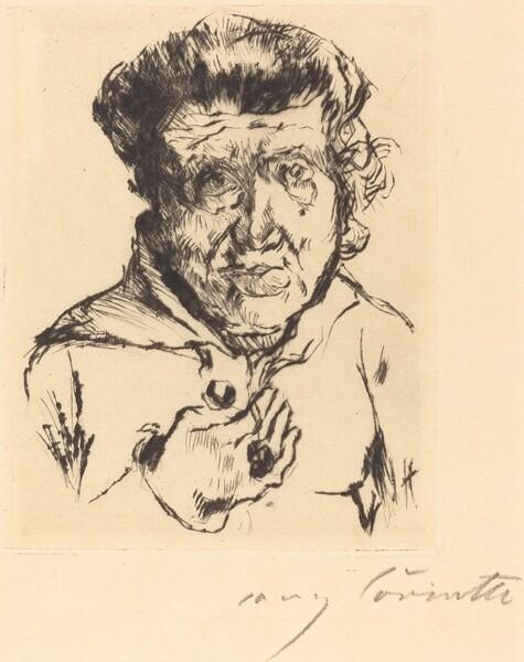 Des Künstlers Schwiegermutter (The Artist