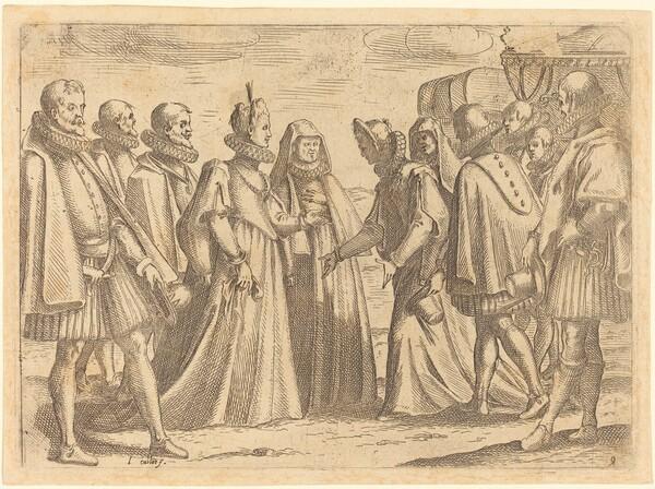 Reception at Mantua