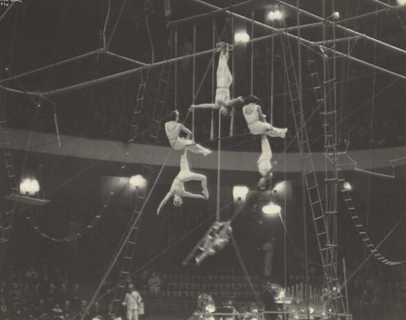 Circus Acrobats, New York