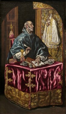 El Greco, Saint Ildefonso, c. 1603/1614c. 1603/1614