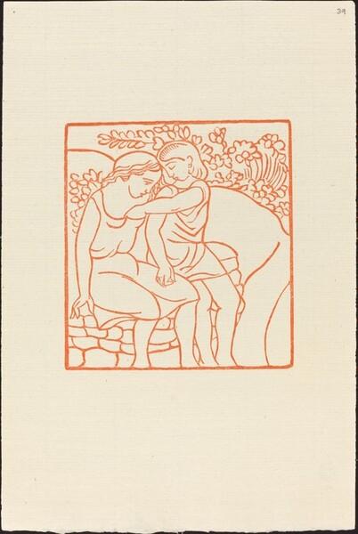 Third Book: Daphnis Puts the Apple into Chloe