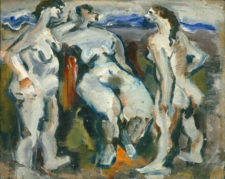 Mark Rothko, Untitled (three nudes), 1933/1934