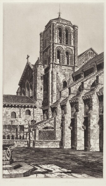 Bascilica of the Madeline, Vézelay
