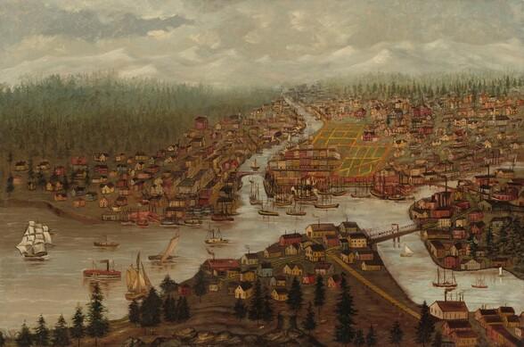 View of Aberdeen, Washington