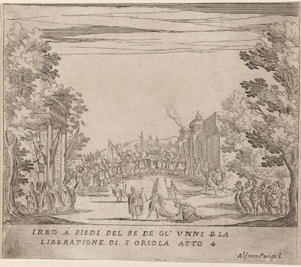 Jereo Before the King of the Huns for the Liberation of Saint Ursula