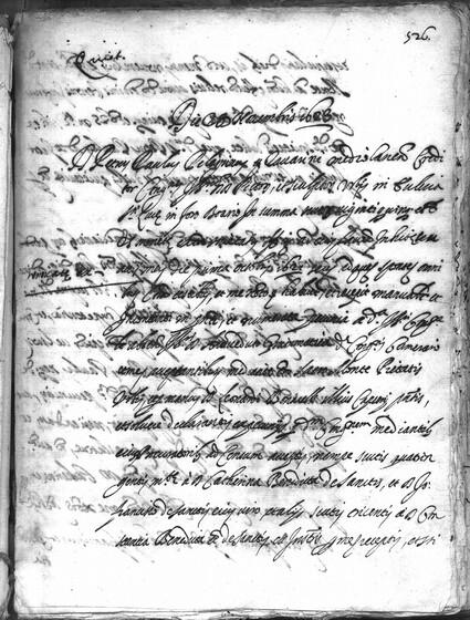 ASR, TNC, uff. 15, 1623, pt. 4, vol. 98, fol. 526r