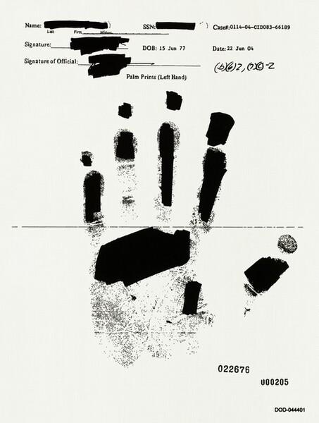 Left Hand DOD-044401