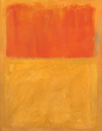 Mark Rothko, Orange and Tan, 19541954