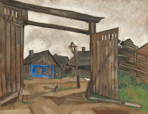 Houses at Vitebsk
