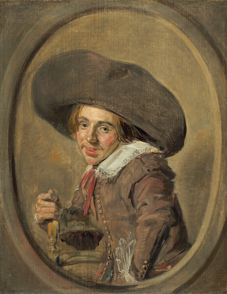 A Young Man in a Large Hat