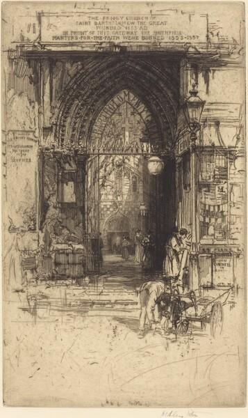 Saint Bartholomew the Great, Smithfield