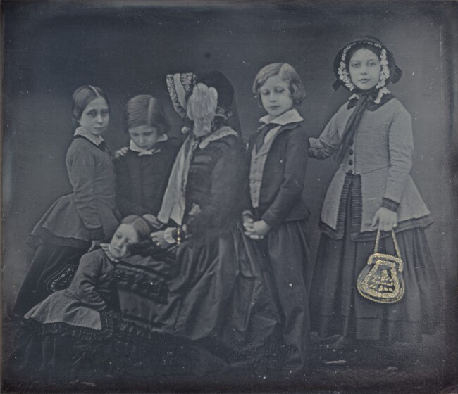 William Edward Kilburn, Queen Victoria and Children, January 19, 1852
