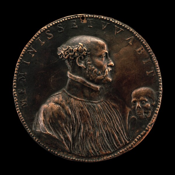 Gabriele Fiamma, 1533-1585, Abbot-General of the Augustinian Congregation 1578 [obverse]