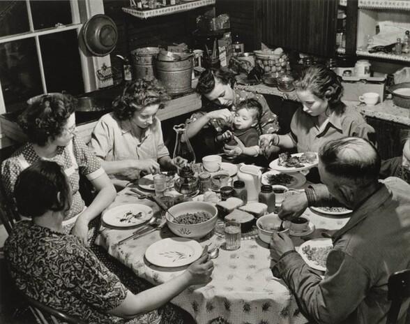 Dinner Time at Mr. Hercules Brown