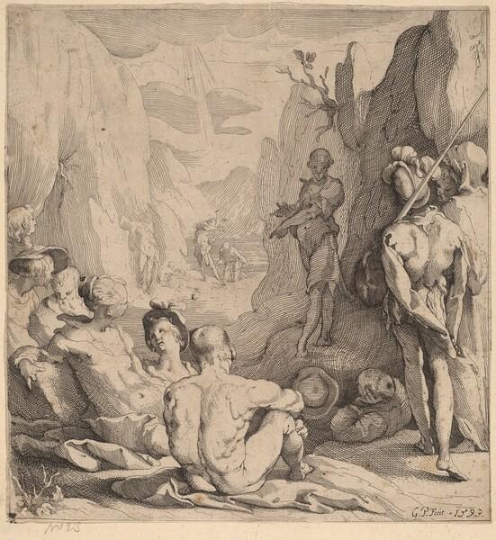 John the Baptist, Preaching