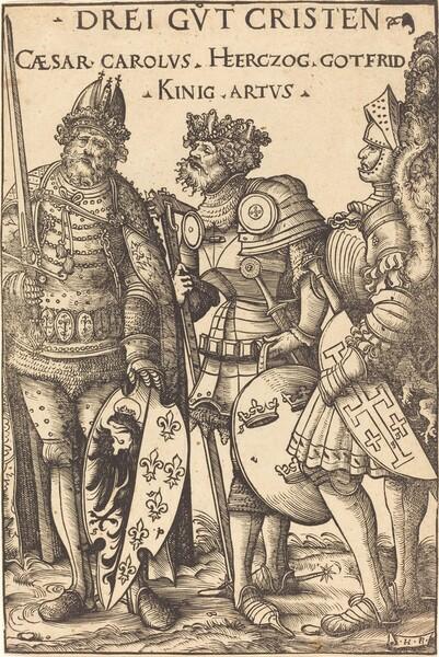 Charlemagne, Arthur and Godfrey
