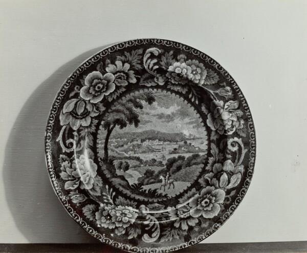Plate - View of Washington