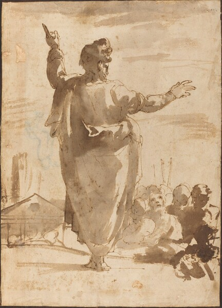 Saint Paul Preaching