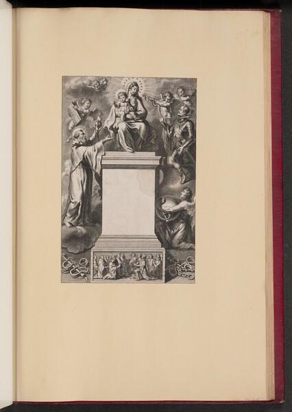 Title Page for B. De Los Rios, De Hierarchia Mariana Libri Sex