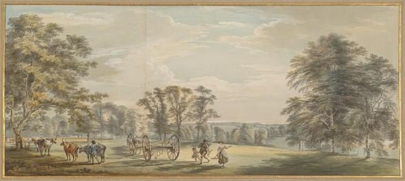 Dawn in Luton Park