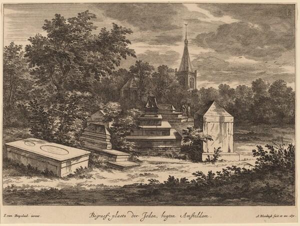 Begraef-plaets der Joden, buyten Amsteldam (Jewish Cemetery outside Amsterdam)